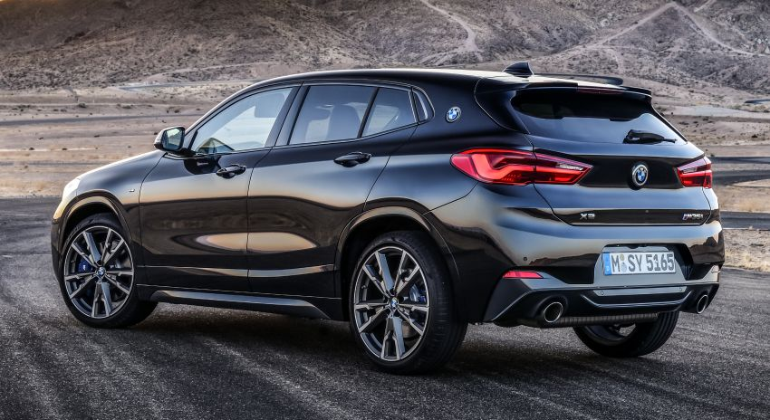 BMW X2 M35i debuts with 302 hp – 0-100 km/h in 4.9s Image #859084