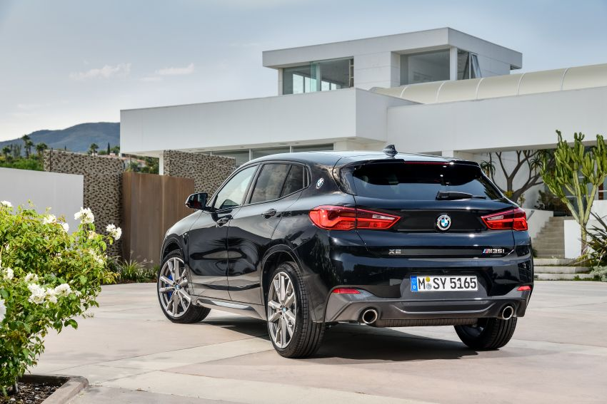 BMW X2 M35i debuts with 302 hp – 0-100 km/h in 4.9s Image #859086