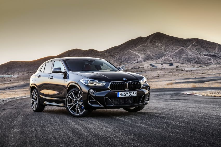 BMW X2 M35i debuts with 302 hp – 0-100 km/h in 4.9s Image #859087