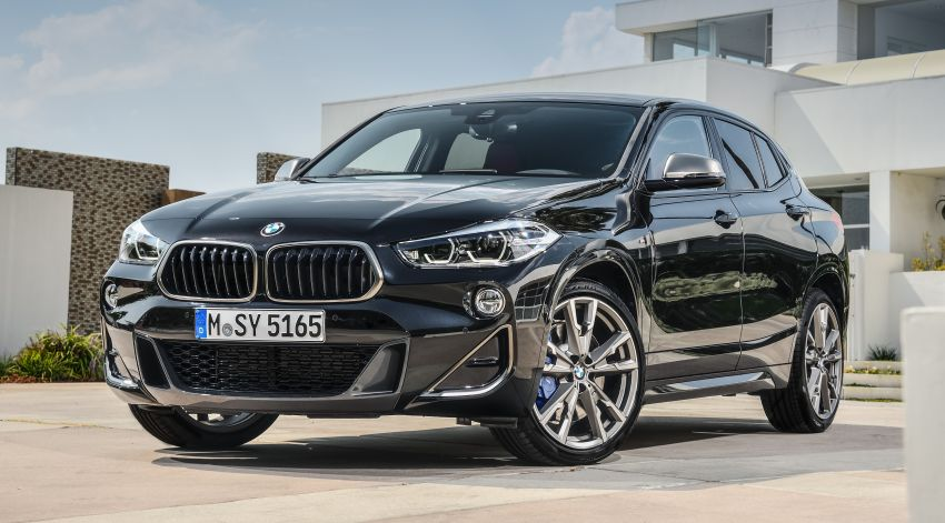BMW X2 M35i debuts with 302 hp – 0-100 km/h in 4.9s Image #859088