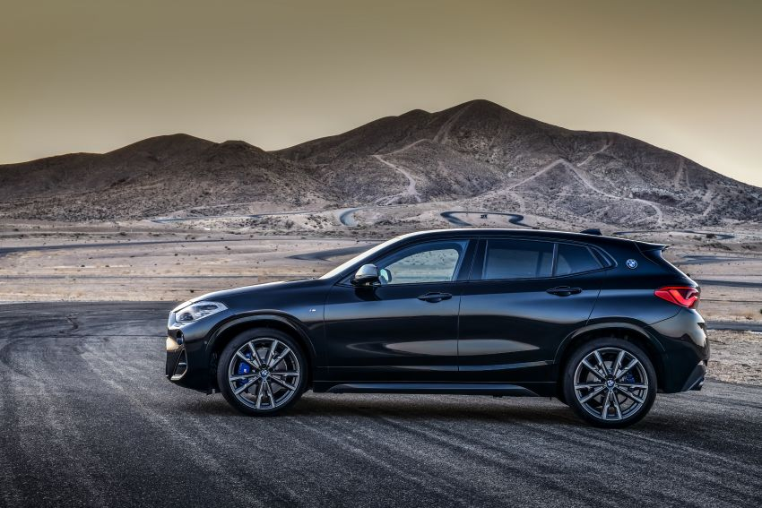 BMW X2 M35i debuts with 302 hp – 0-100 km/h in 4.9s Image #859060