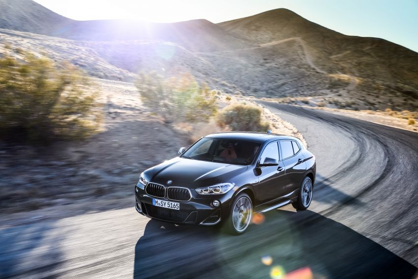 BMW X2 M35i debuts with 302 hp – 0-100 km/h in 4.9s Image #859061