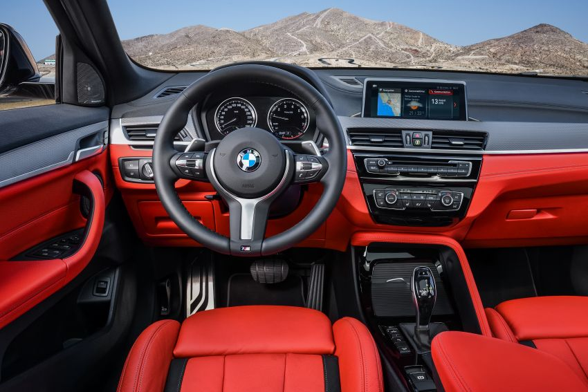 BMW X2 M35i debuts with 302 hp – 0-100 km/h in 4.9s Image #859062