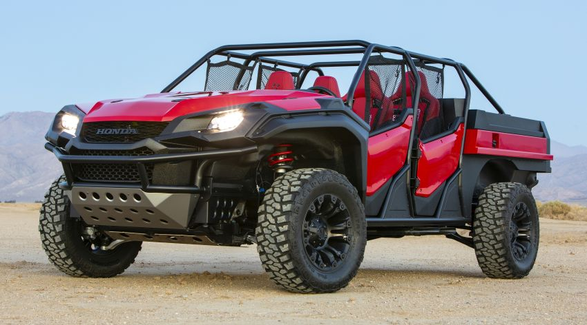 Honda Rugged Open Air Vehicle concept debuts at SEMA – an edgy mix of the Ridgeline and Pioneer 1000 Image #881090