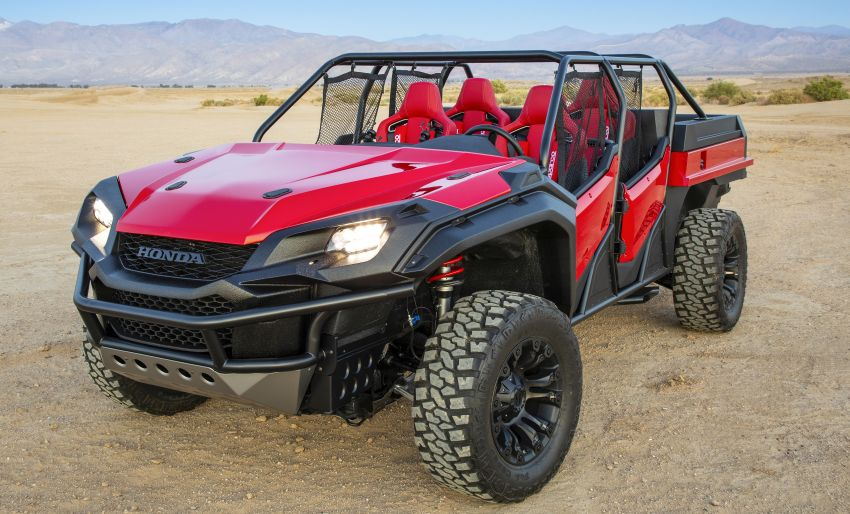 Honda Rugged Open Air Vehicle concept debuts at SEMA – an edgy mix of the Ridgeline and Pioneer 1000 Image #881091