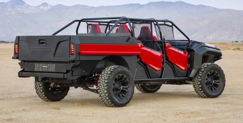 Honda Rugged Open Air Vehicle concept debuts at SEMA – an edgy mix of the Ridgeline and Pioneer 1000 Image #881094