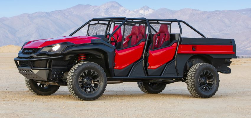 Honda Rugged Open Air Vehicle concept debuts at SEMA – an edgy mix of the Ridgeline and Pioneer 1000 Image #881095