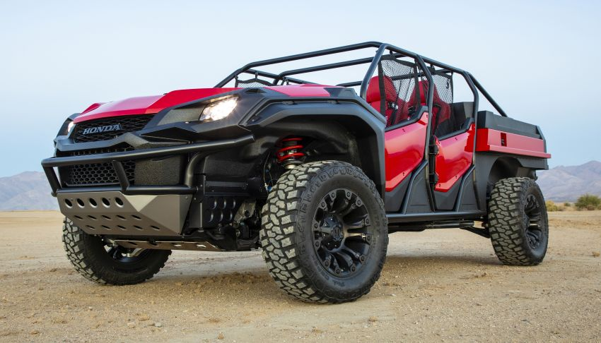 Honda Rugged Open Air Vehicle concept debuts at SEMA – an edgy mix of the Ridgeline and Pioneer 1000 Image #881096