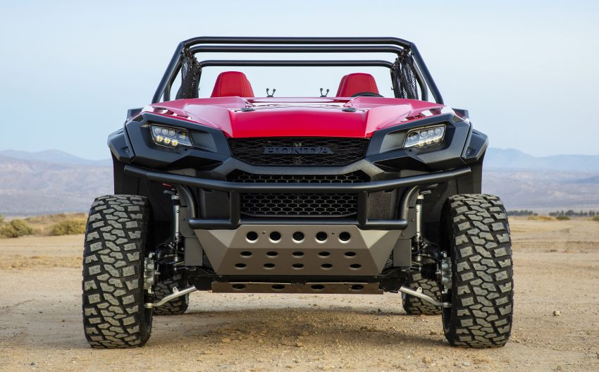 Honda Rugged Open Air Vehicle concept debuts at SEMA – an edgy mix of the Ridgeline and Pioneer 1000 Image #881099