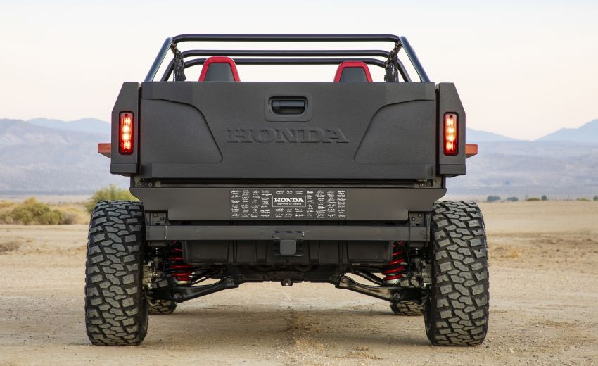 Honda Rugged Open Air Vehicle concept debuts at SEMA – an edgy mix of the Ridgeline and Pioneer 1000 Image #881100