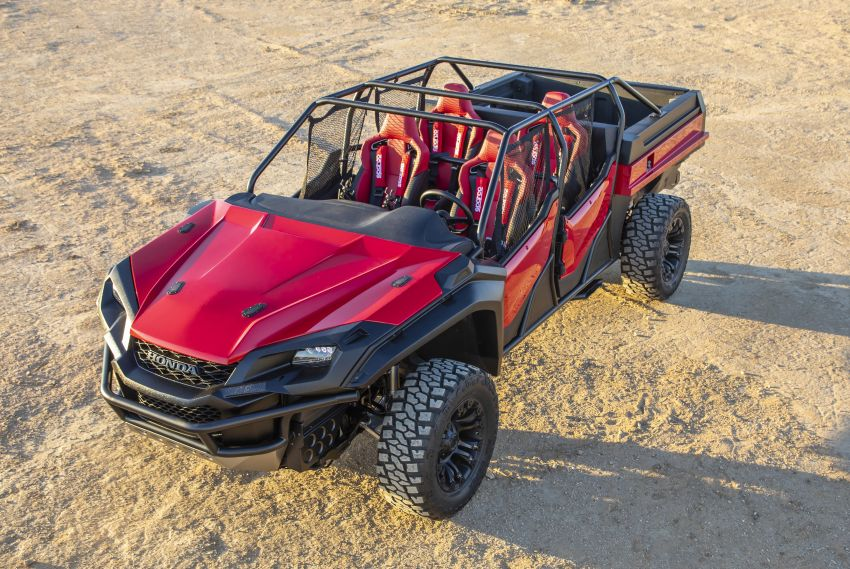 Honda Rugged Open Air Vehicle concept debuts at SEMA – an edgy mix of the Ridgeline and Pioneer 1000 Image #881102