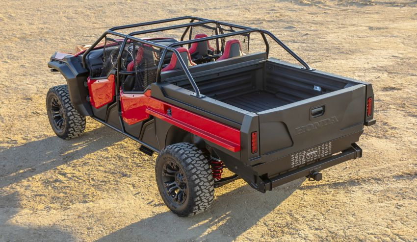 Honda Rugged Open Air Vehicle concept debuts at SEMA – an edgy mix of the Ridgeline and Pioneer 1000 Image #881104