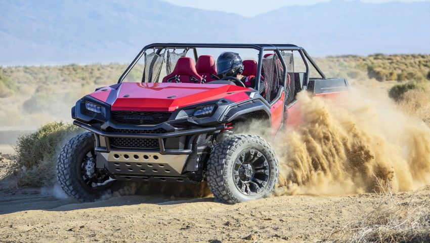 Honda Rugged Open Air Vehicle concept debuts at SEMA – an edgy mix of the Ridgeline and Pioneer 1000 Image #881105