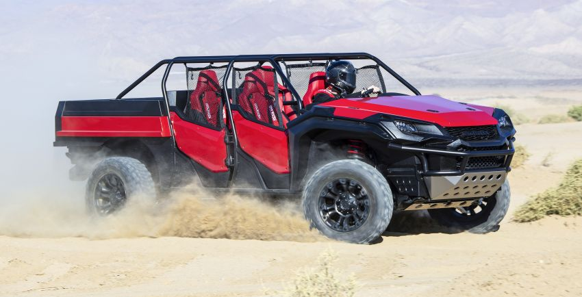 Honda Rugged Open Air Vehicle concept debuts at SEMA – an edgy mix of the Ridgeline and Pioneer 1000 Image #881106