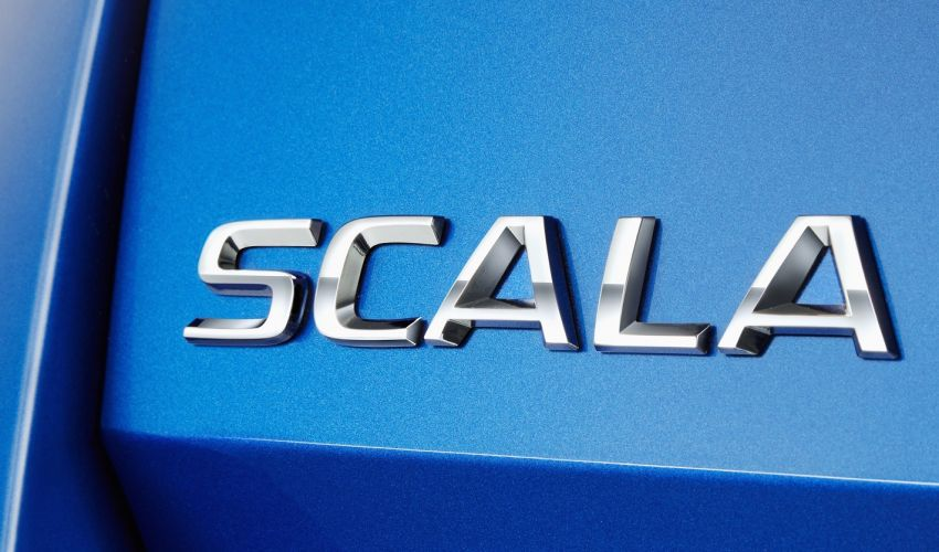 Skoda Scala is the name of new Golf-sized hatchback Image #873968