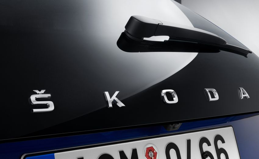 Skoda Scala is the name of new Golf-sized hatchback Image #873969