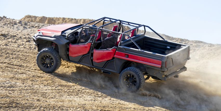 Honda Rugged Open Air Vehicle concept debuts at SEMA – an edgy mix of the Ridgeline and Pioneer 1000 Image #881108