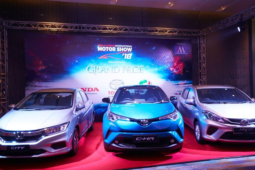 KLIMS 2018: Kembali selepas lima tahun – tiket RM20 tawar hadiah Toyota C-HR, Honda City, Perodua Myvi Image #873405