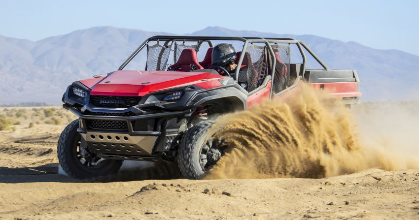 Honda Rugged Open Air Vehicle concept debuts at SEMA – an edgy mix of the Ridgeline and Pioneer 1000 Image #881080