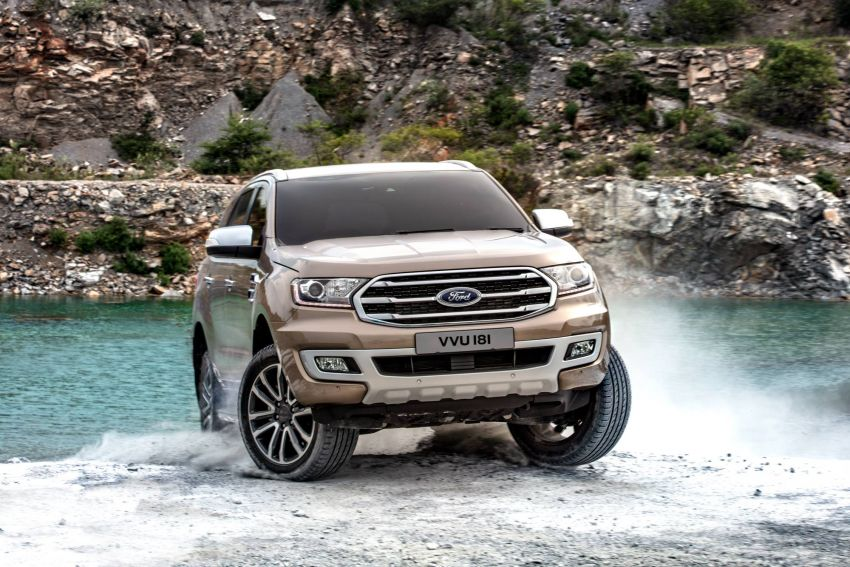 New Ford Everest facelift now available in Malaysia – 2.0L turbodiesel engines, 10-speed auto, from RM229k Image #871081