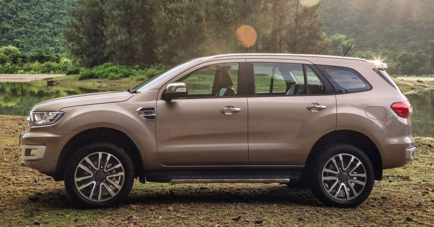 New Ford Everest facelift now available in Malaysia – 2.0L turbodiesel engines, 10-speed auto, from RM229k Image #871082