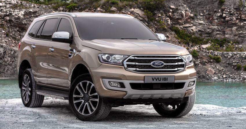 New Ford Everest facelift now available in Malaysia – 2.0L turbodiesel engines, 10-speed auto, from RM229k Image #871084