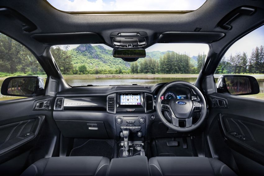 New Ford Everest facelift now available in Malaysia – 2.0L turbodiesel engines, 10-speed auto, from RM229k Image #871087