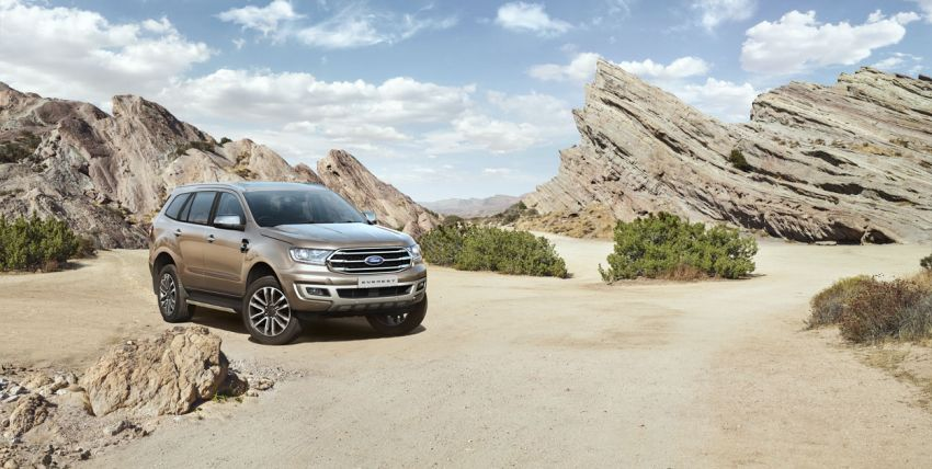New Ford Everest facelift now available in Malaysia – 2.0L turbodiesel engines, 10-speed auto, from RM229k Image #871067