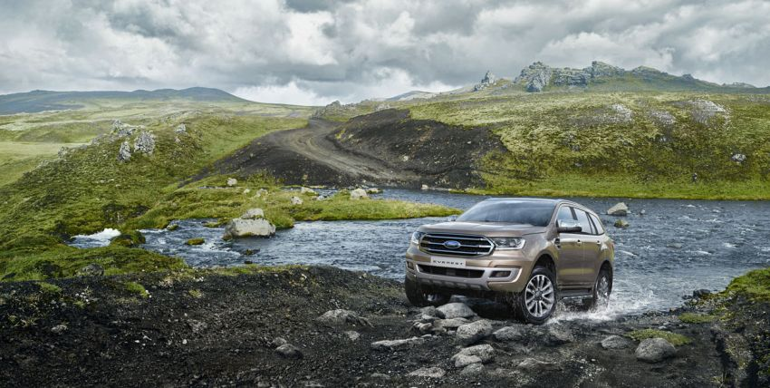 New Ford Everest facelift now available in Malaysia – 2.0L turbodiesel engines, 10-speed auto, from RM229k Image #871069