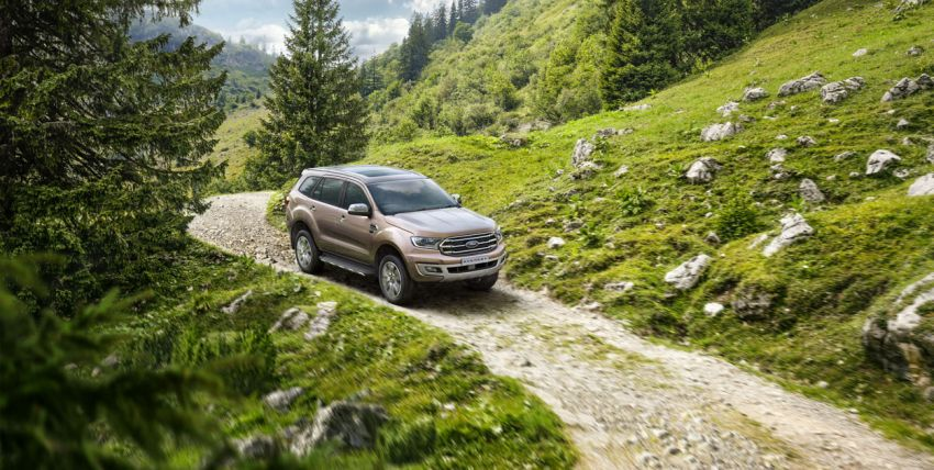New Ford Everest facelift now available in Malaysia – 2.0L turbodiesel engines, 10-speed auto, from RM229k Image #871071