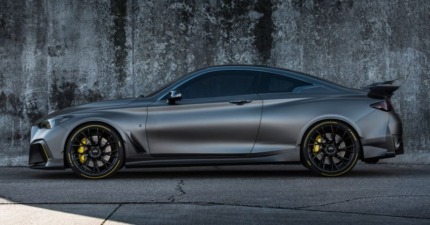 Infiniti Q60 Project Black S – updated aero and tech Image #868189
