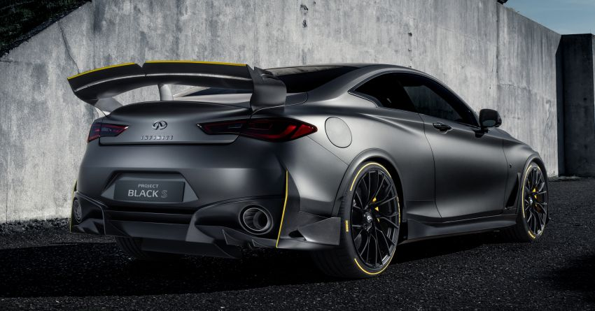 Infiniti Q60 Project Black S – updated aero and tech Image #868201