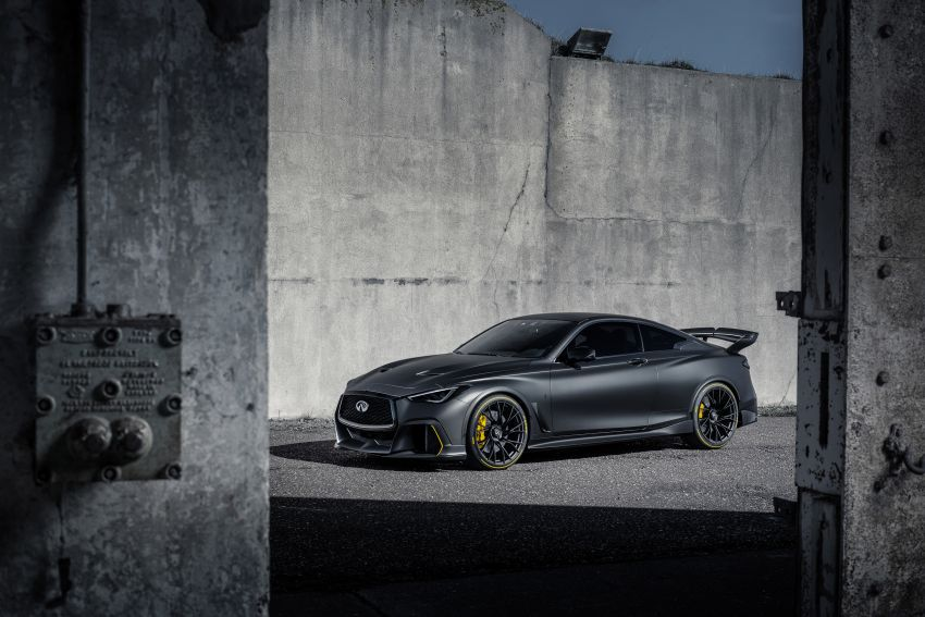 Infiniti Q60 Project Black S – updated aero and tech Image #868202