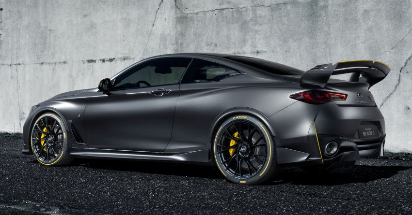 Infiniti Q60 Project Black S – updated aero and tech Image #868210