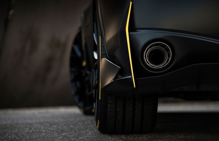 Infiniti Q60 Project Black S – updated aero and tech Image #868215