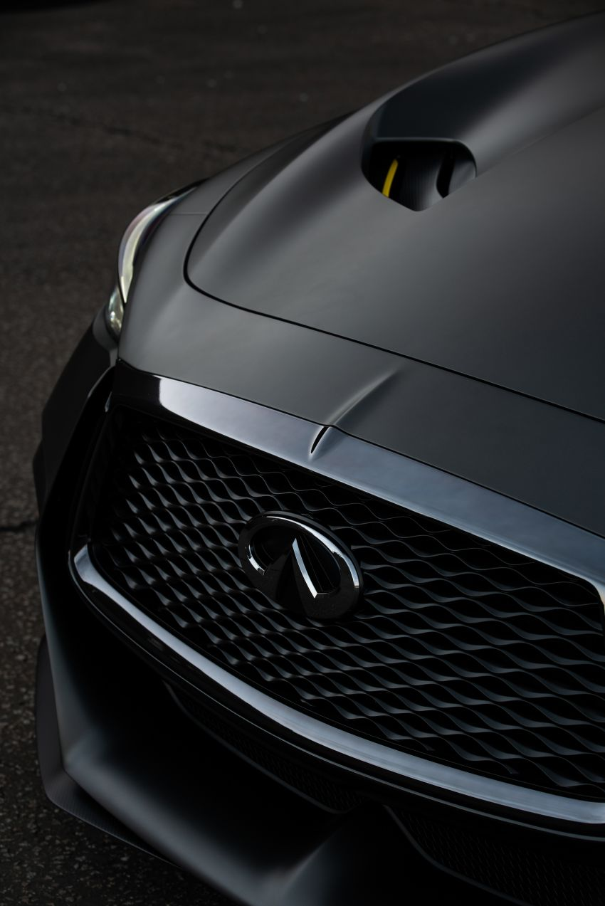 Infiniti Q60 Project Black S – updated aero and tech Image #868220