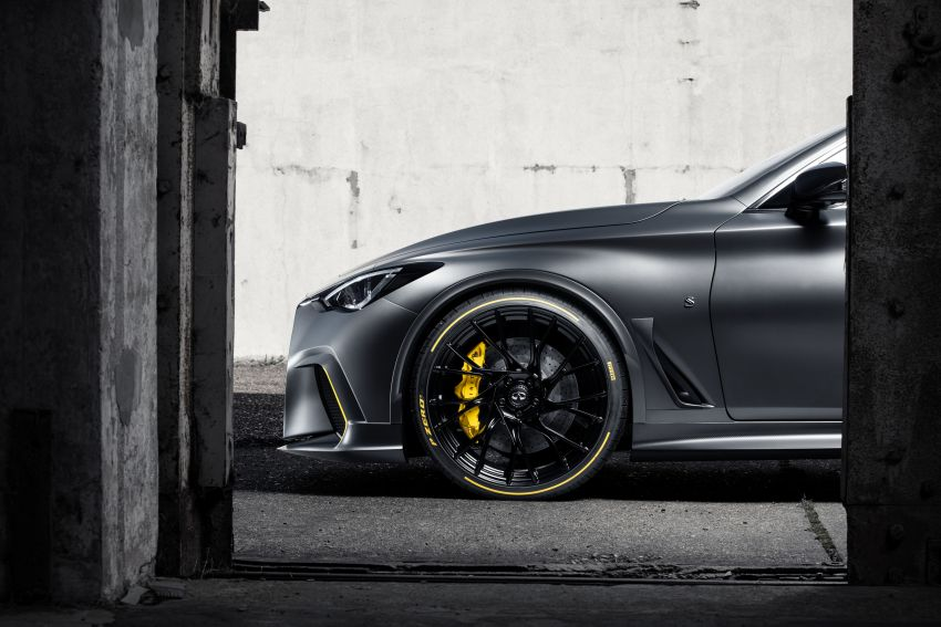 Infiniti Q60 Project Black S – updated aero and tech Image #868221