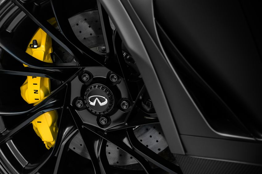 Infiniti Q60 Project Black S – updated aero and tech Image #868225