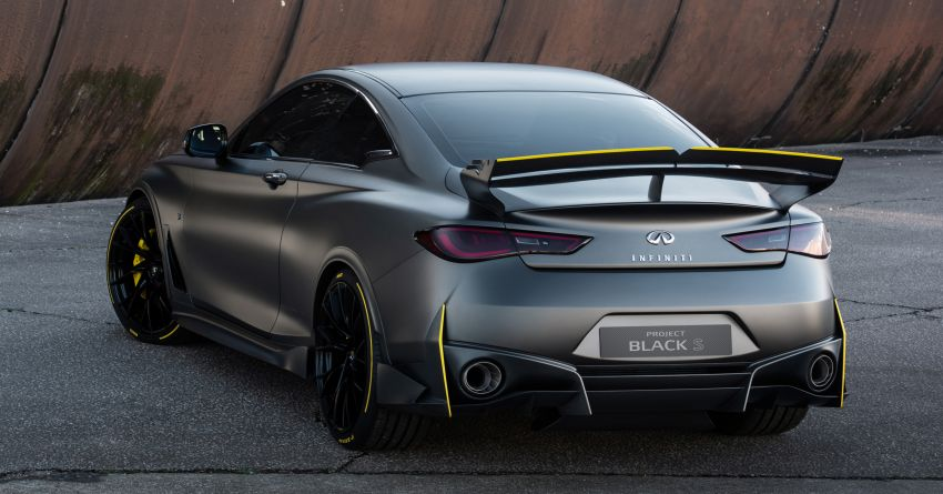 Infiniti Q60 Project Black S – updated aero and tech Image #868192