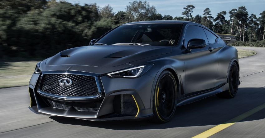 Infiniti Q60 Project Black S – updated aero and tech Image #868238
