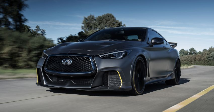 Infiniti Q60 Project Black S – updated aero and tech Image #868243
