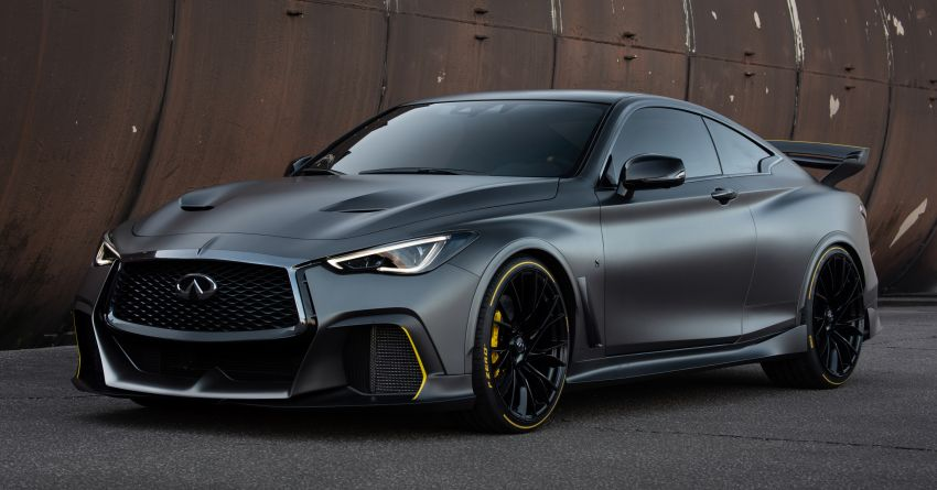 Infiniti Q60 Project Black S – updated aero and tech Image #868193