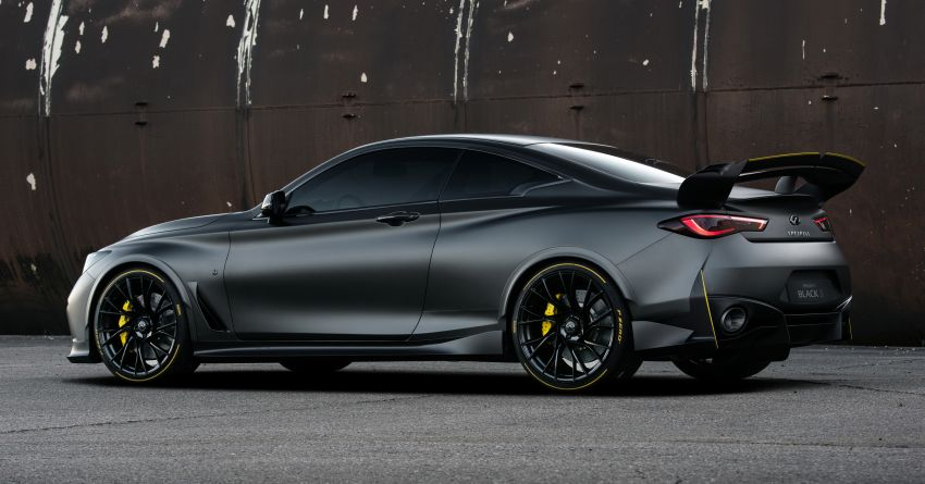 Infiniti Q60 Project Black S – updated aero and tech Image #868198