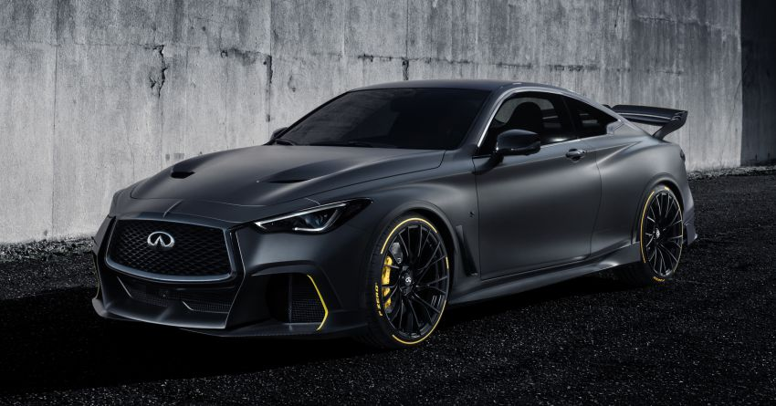 Infiniti Q60 Project Black S – updated aero and tech Image #868199