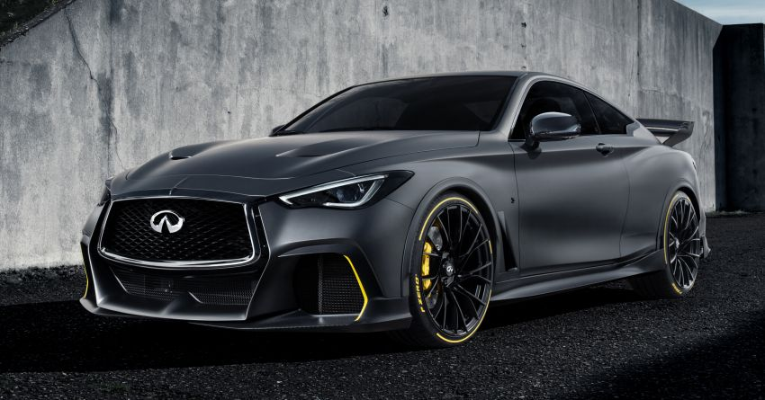 Infiniti Q60 Project Black S – updated aero and tech Image #868200