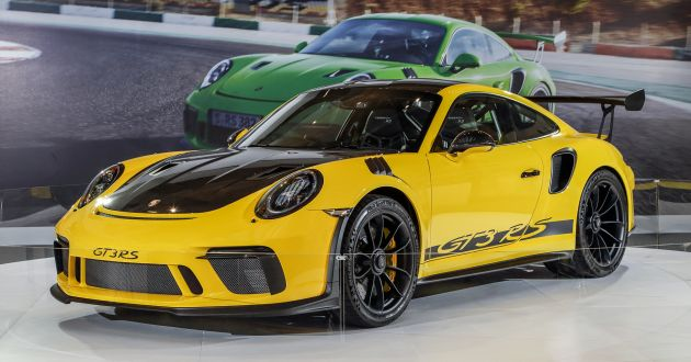 2018 Porsche 911 Gt3 Rs Now In M Sia Rm2 23 Mil