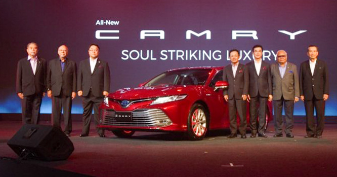 2018 Toyota Camry launched in Thailand – four variants, including hybrids; priced from 1.445 mil baht Image #880327