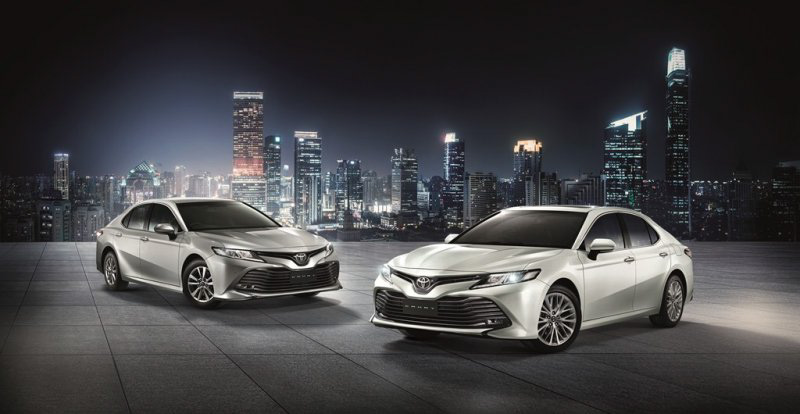 2018 Toyota Camry launched in Thailand – four variants, including hybrids; priced from 1.445 mil baht Image #880329