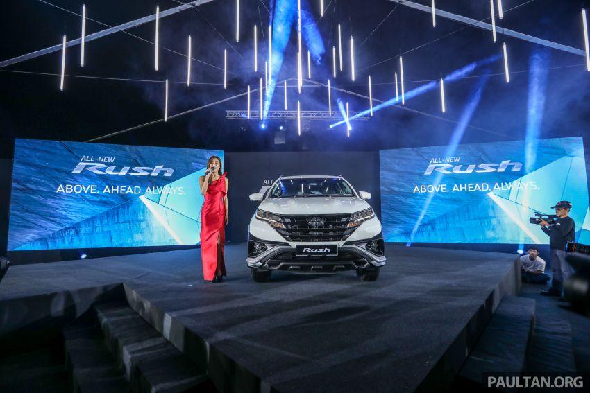 Toyota Rush 2018 rasmi dilancarkan di Malaysia – 7-tempat duduk, 1.5L, dua varian, harga RM93k-RM98k Image #874478