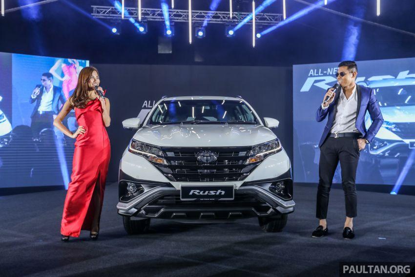 Toyota Rush 2018 rasmi dilancarkan di Malaysia – 7-tempat duduk, 1.5L, dua varian, harga RM93k-RM98k Image #874476
